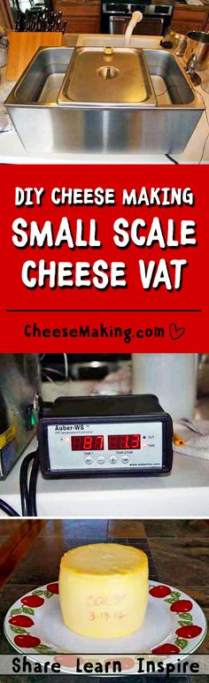 Making a Home Cheese Vat