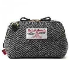 Harris tweed pouch / shopstyle (ショップスタイル): PBA Outlet Harris Tweed/ハリスツイード