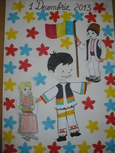 1 Decembrie, Early Education, Diy Projects To Try, Romania, Kindergarten, Snoopy, Activities, School, Crafts