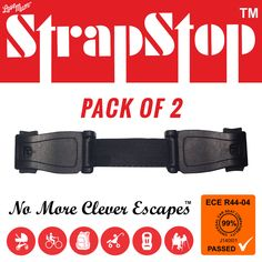 Strap STOP 2 Pack - Love Mum