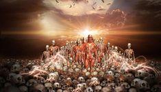 Nesta visão dada por Deus à Ezequiel, o profeta entende que o Espírito de Deus reconstruiria os ossos mortos em uma nação, dando-lhes tendões, carne, pele e o sopro da vida.
