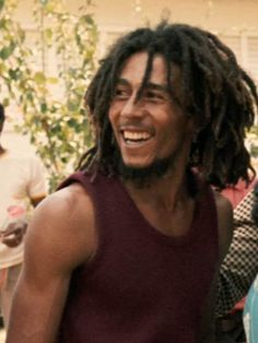 Bob Marley was always so happy. I strive to be as happy and accepting as he.