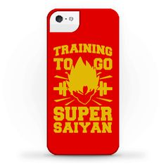 Training to Go Super Saiyan - You have to train hard if you want to go super saiyan, I've been in the gym lifting running and training in 300x gravity so I can reach the legendary level. Rock this nostalgic anime fitness mashup design and turn it up a notch next time you hit the gym.