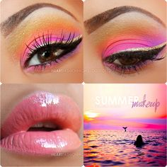 Summer makeup by ' I ♥ FASHIONHIGH