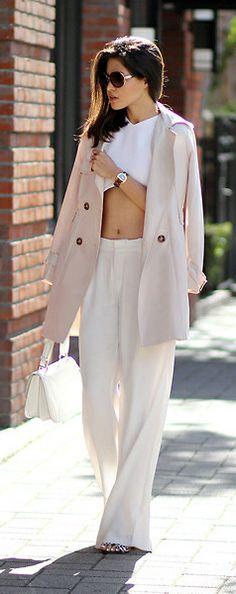 nude blazer by Adriana