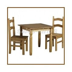 Dining-Table-Set-2-Chairs-Rustic-Dinette-3-Piece-Wooden-Kitchen-Breakfast-Bistro