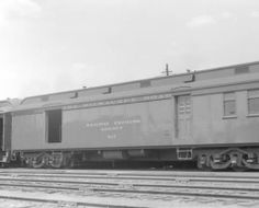 CMStP&P car, engine number 817 :: Western History