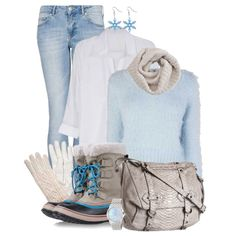 """""""Crop Top + Blouse"""" by simona-risi on Polyvore"""