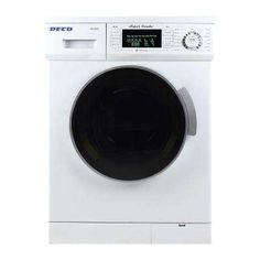 NO NEED FOR SEPARATE WASHER & DRYER: WASHER/DRYER COMBO:   All-in-One 1.6 cu. ft. Compact Combo Washer and Electric Dryer with Optional Condensing/Venting Dry in White