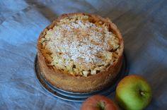 Wer Apfelkuchen mag, sollte dieses Rezept versuchen. Der Kuchen kommt mit wenigen Zutaten aus, die man meist im Haus hat.     .:  Zutaten ...