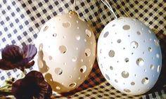 Gravierte Eier - mit deutscher Anleitung
