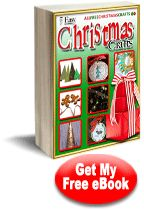 """""""7 Easy Christmas Crafts"""" #free #eBook"""