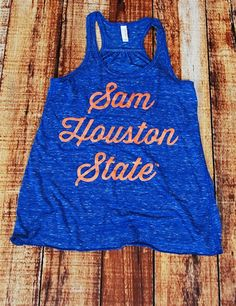 Love this Sam Houston State University Tank Top!