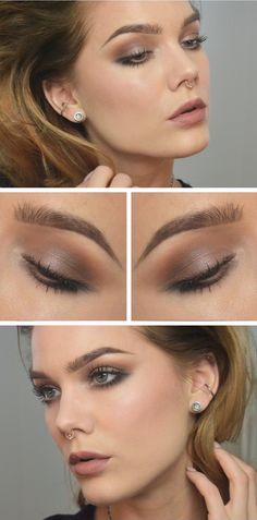 58 Ideas Makeup Ideas For Brown Eyes Eyeliner Linda Hallberg For 2019 Doll Eye Makeup, Eyebrow Makeup, Makeup Geek, Love Makeup, Simple Makeup, Makeup Inspo, Makeup Remover, Makeup Eyeshadow, Beauty Makeup