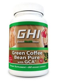 GHI Pure Green Coffee Bean Extract Supplement with 800mg Max Ultra Formula 50% Chlorogenic Acid (only 2 capsules... - List price: $49.99 Price: $16.96 Saving: $33.03 (66%)  #GlobalHealthIdeas