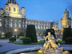 Vienna , vicino ai musei