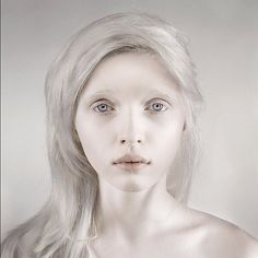 An albino model that breaks my heart with her beauty. From what I have been able…