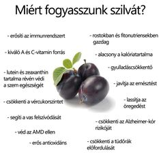 Szilva | Socialhealth Keeping Healthy, Healthy Tips, Healthy Recipes, Smoothie Fruit, Fruit Benefits, Forever Living Products, Health Eating, Natural Life, Eating Well