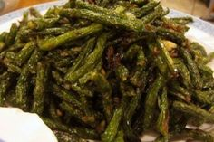 Asparagus, Green Beans, Spicy, Tasty, Vegan, Vegetables, Cooking, Origins, Food Ideas