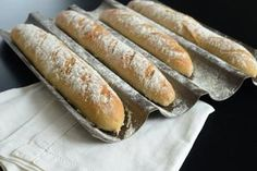 Une petite baguette ... magique (Französisches Baguette selber backen) backen top-10 brot fruehstueck hauptspeisen rezepte nachspeisen suppen vesper Französisch Kochen by Aurélie Bastian