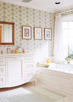 like curtain idea for Master bathroom