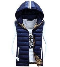 QualityUC Mens United States Superior Hip Hop Winter Vest