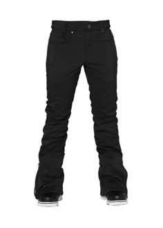 686 Womens Snowboard Pants Authentic Willow Softshell Black