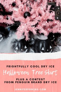Penguin Brand Dry Ice Halloween Contest.  Win $1,000.00!
