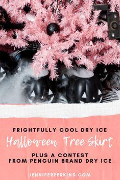 Penguin Brand Dry Ice Halloween Contest.  Win $1,000.00!