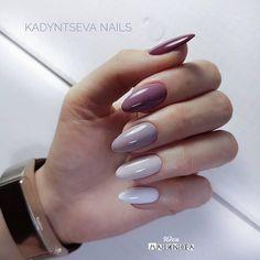 toe nail tips Awesome Aycrlic Nails, Oval Nails, Nail Manicure, Cute Nails, Pretty Nails, Hair And Nails, Gradient Nails, Multicolored Nails, Girls Nails