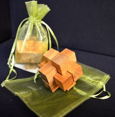 Wooden link #puzzle #handmade in #Thailand! #fairtrade