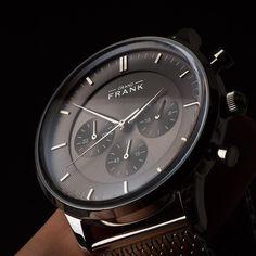 The Kinsale silver chronograph ⌚️   www.Grandfrank.com
