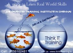 https://flic.kr/p/wRHMCJ   Best Software Training Institute in Chennai   Build your career by enrolling the challenging programme of study and research in IT Field.  Job Oriented training will help you in companies. Excellency in Placement Offering We are the Best Training institute in Chennai For Details: www.thinkittraining.in/home