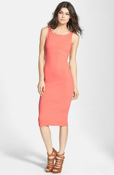 Leith Seamed Body-Con Dress available at #Nordstrom