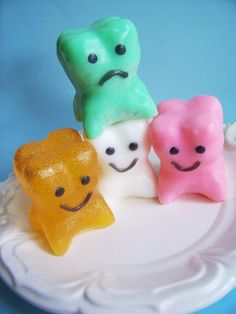 Silly Tooth Soap. $5.00, via Etsy.