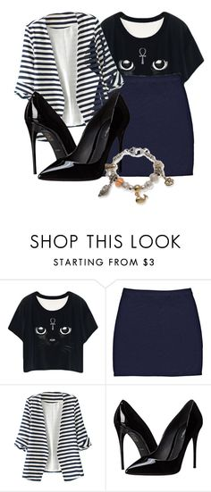"""Untitled #895"" by filhote-1207 on Polyvore featuring WithChic, Dolce&Gabbana and Kim Rogers"