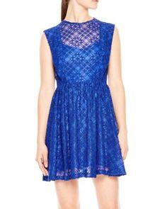 Sandro Mikka Lace Dress | Bloomingdale's