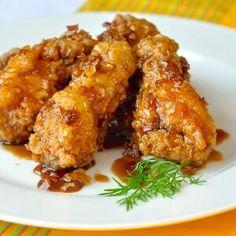 Crispy Honey Garlic Chicken Wings - Rock Recipes - Rock Recipes