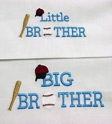 Baseball Brothers Set | Baseball | Machine Embroidery Designs | SWAKembroidery.com Oma's Place