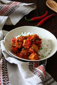 Indické kuřecí kari – Vařeniště Curry, Ethnic Recipes, Food, Diet, Curries, Eten, Meals