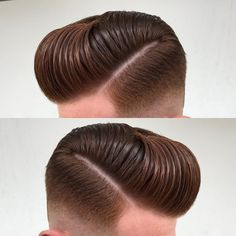 Quiff hairstyles haircuts make men look classy if styled correctly with proper and appropriate hair product. Trendy Mens Haircuts, Cool Hairstyles For Men, Latest Hairstyles, Hairstyles Haircuts, Pompadour Fade Haircut, Mens Hairstyles Pompadour, Pompadour Men, Modern Pompadour, Haircuts With Bangs