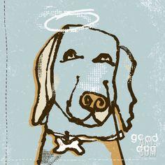 Good Dog Print by Peter Horjus at Art.com