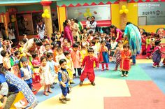 Keeping with the tradition of celebrating festivals with gaiety and apprising little Prideens of our rich culture and heritage, the auspicious festival of Baisakhi was celebrated across all branches of Mother's Pride with great fun and fervor. Our Prideens looked adorable dressed in colourful Punjabi attires. The branches were beautifully decorated depicting the beauty of the harvest season.  #preschool #playschool