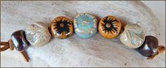 """7 bolas de gres """" otoño """" de MAJOYOAL por DaWanda.com"""