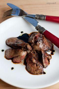 Widzimrka: Wątróbka w sosie balsamicznym / Duck liver in balsamico sauce