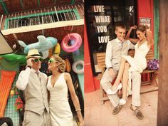 The Things We Would Blog: Wedding Wednesday: Destination Advice from a Bride