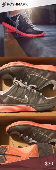 new concept 11218 4463e Nike Lunar Allways Nike women s size 8, trainers, peach, worn 3 4
