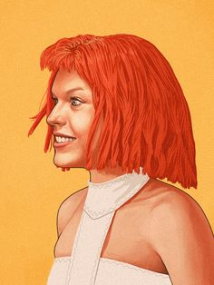 Leeloo by Mike Mitchell