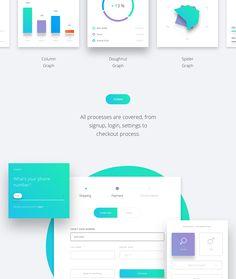 Datta - Dashboard UI Kit on Behance