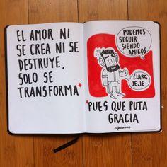 El amor ni se crea ni se destruye... (Alfonso Casas)